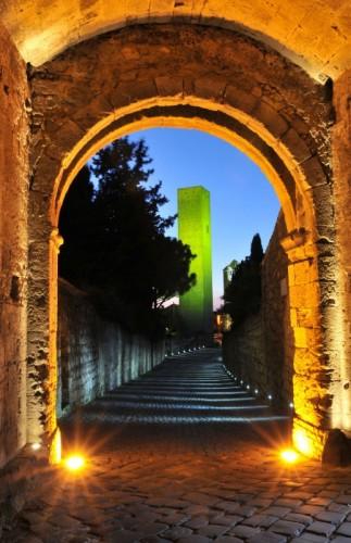 Tarquinia - Fotocromia Medioevale