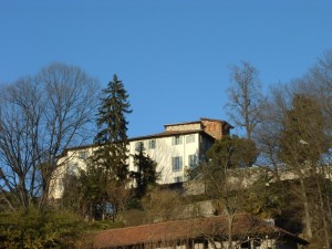 il castello di Torre Canavese.