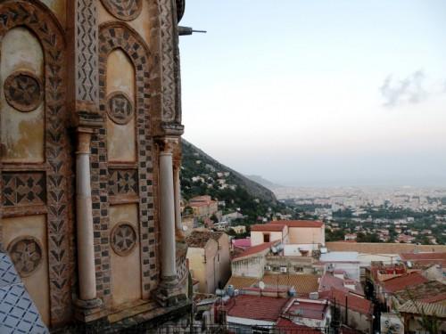 Monreale - Monreale dall'alto  del Duomo