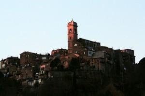 Il campanile…ed il sole della sera..