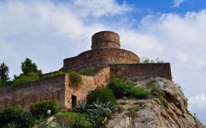 L'altro lato del castello…