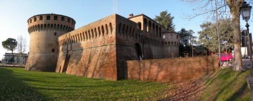 Bagnara di Romagna - la rocca in stitch