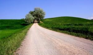 lungo la via