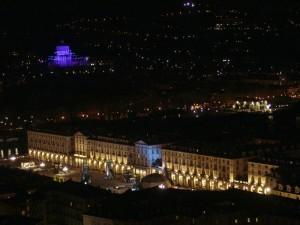 Torino vista dalla Mole in notturna