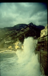 Burrasca ad Amalfi