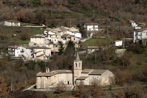 Tione degli Abruzzi - Santa Maria frazione di Tione