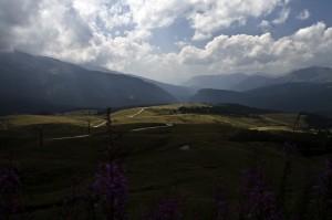 Panorama da Passo Rolle