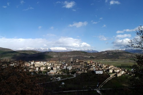 Caporciano - Panorama di Caporciano