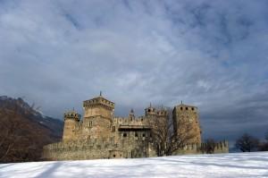 Ultimo sole sul castello.