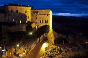 Il castello all'imbrunire
