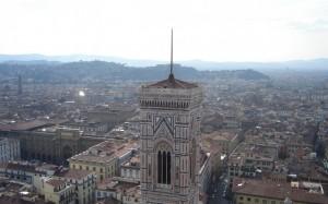 Torre di Giotto…dalla Cupola di Brunelleschi