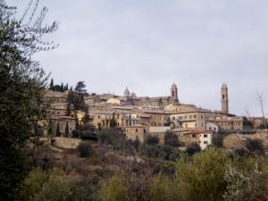 Montalcino ..dove è buono il pane, ma soprattutto il vino