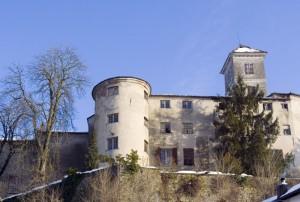Il castello di Morsasco, lato ovest.