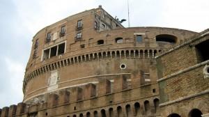 Particolare di Castel S. Angelo