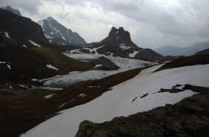 La Meja e il lago superiore di Roburent