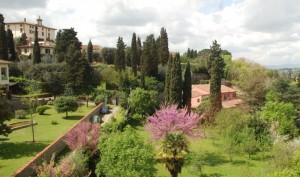 Il Paradiso……….e sulla sinistra il Forte Belvedere.