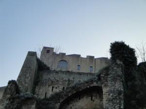 Castel sant'elmo in sezione
