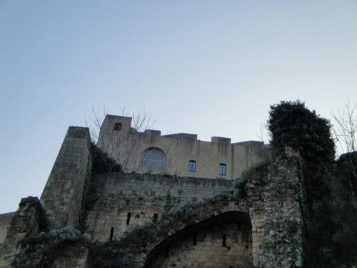 Napoli - Castel sant'elmo in sezione