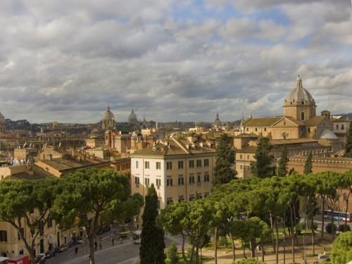 Roma - Tetti e Cupole