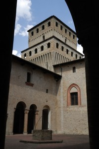 Castello di Torrechiara (particolare)