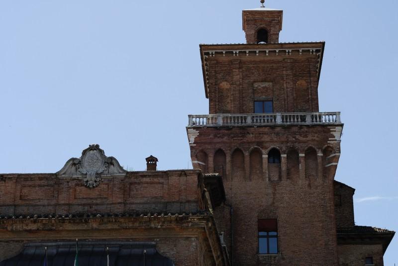 ''Castello Estense (particolare)'' - Ferrara