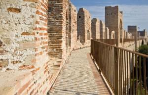 Jogging sulla mura di Cittadella