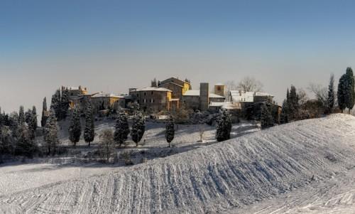 Castello di Serravalle - Oltre la nebbia