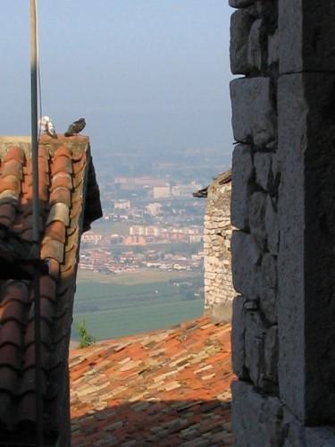 Sermoneta - Tra i tetti, lontano lontano