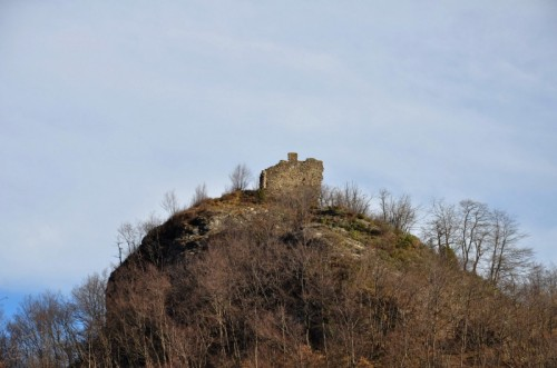 Aquila d'Arroscia - il castello di Aquila