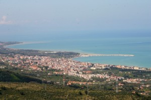 Panorama  Sant'Agata  Militello