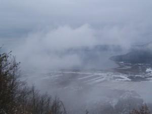 Inverno sul lago di Vico
