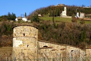 I resti della torre e del castello di Cormons