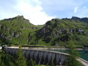 La diga di Fedaia