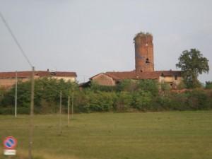 Cavallermaggiore, frazione Colombani, torre Motturone