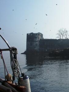 I Castelli di Cannero dalla barca