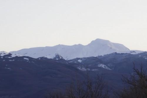 Castelnovo ne' Monti - cima innevata