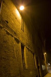 il colore della mura notturne