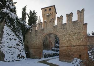 Entrata alla Rocca. Lato B