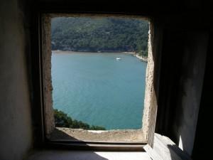 Vista della baia da torre S. Felice