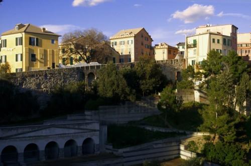 Genova - Le mura del Barbarossa