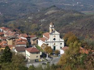 la chiesa di bosio