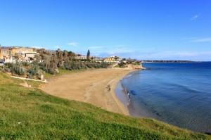 Panorama della costa Avolese.