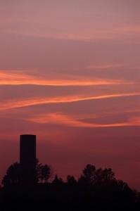 Torre al tramonto