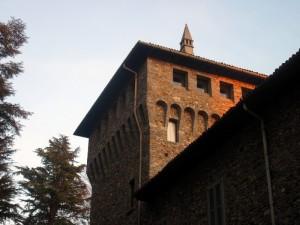 La torre del Castello di Crenna