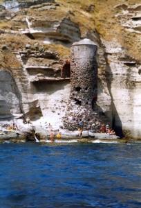 Torre sul mare a Capraia