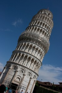Torre pendente?