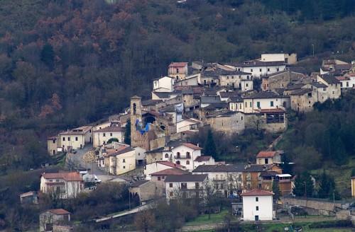 Sant'Eusanio Forconese - I danni del terremoto a Casentino