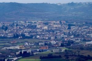 San Demetrio visto dalla rocca