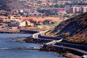 La costa di Bosa Marina