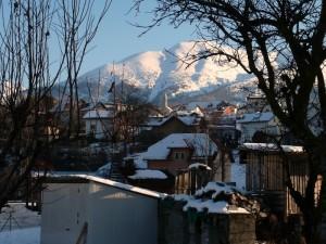 """Broz """"frazione di Tambre"""" vista da Spert."""